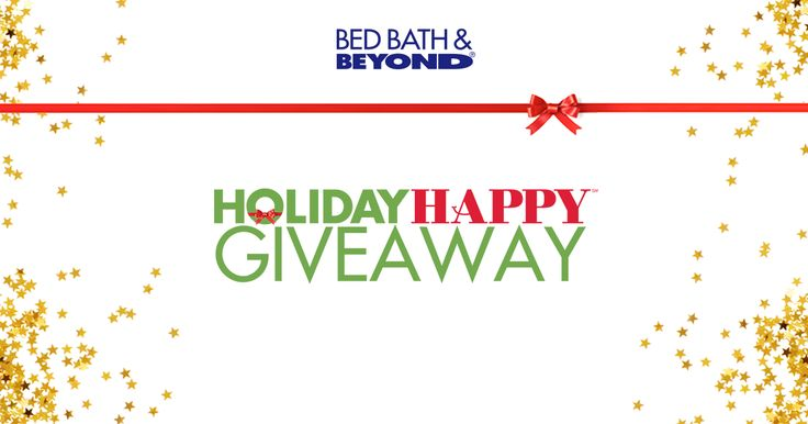 It's time to get Holiday Happy! You can also enter our Holiday Happy Giveaway where you can win a $5,000 Shopping Spree! Ends 12/23. Plus, discover 44 days of Instant Win prizes. Play every day for a different prize. One winner each day. #GetHolidayHappy