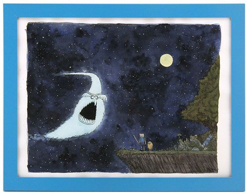 Phil McAndrew - Artwork - Finn and Jake Prepare to Face the Great Ghost Wizard - Nucleus | Art Gallery and Store