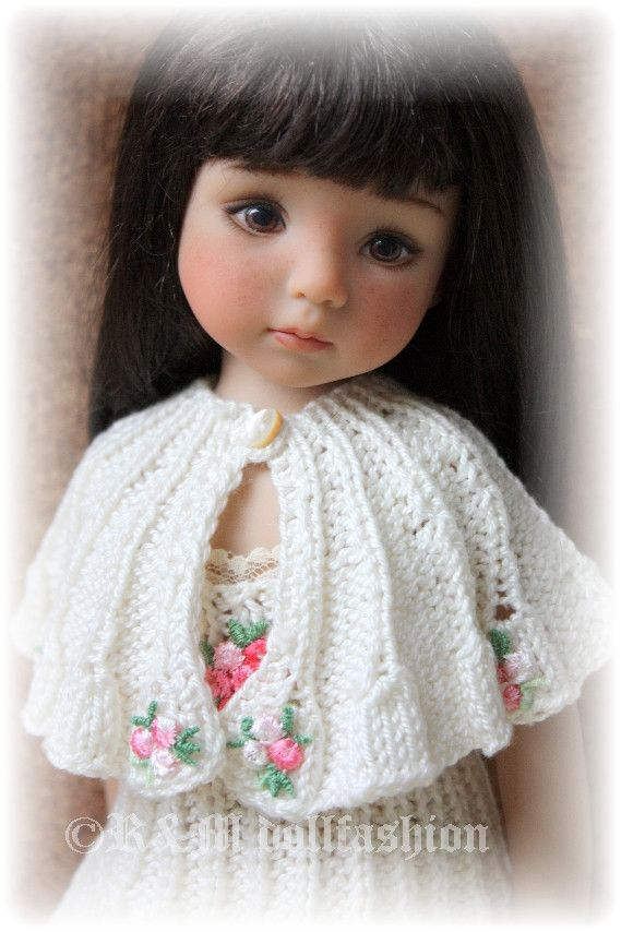 "R M Dollfashion Sale OOAK Hand Knit Outfit for Effner Little Darling 13"" Doll   eBay"