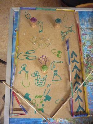 De 3de klas van de gemeenteschool Stokkel: techniek: een flipperkast maken
