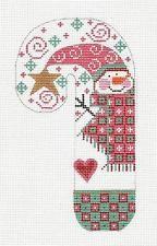 *Новый* Danji ЛГ. Конфета Снегурочка ручная вышивка холст орнамент