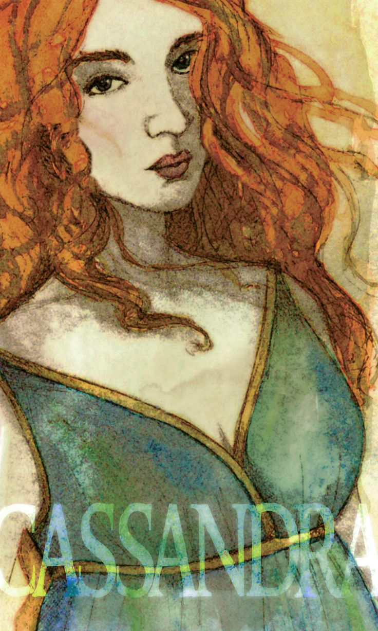 """Continuing with the Greek Goddess theme, although, Cassandra doesn't really get classified as a """"Goddess"""". She was one of the mortal princesses of Troy."""
