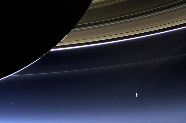 That pale blue dot is us – and after Cassini ends its mission this week, it's not a view we'll see again soon http://