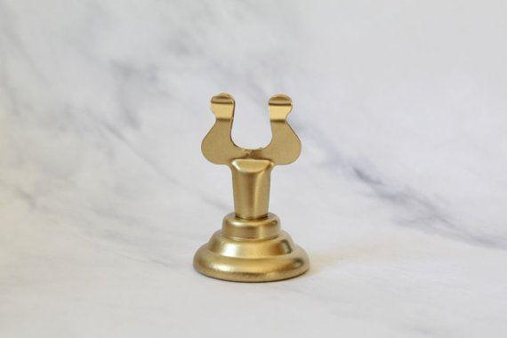 Gold Schildhalter, Hochzeit Tisch Nummer stehen, Kartenhalter, Tisch Dekoration, Menü-Kartenhalter