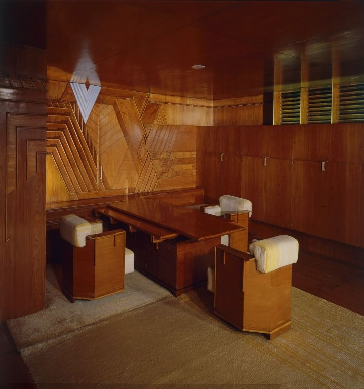 kaufman wright designed office - Google Search