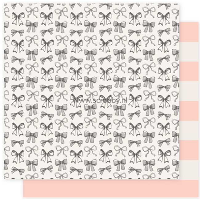 Crate Paper Maggie Holmes Bloom Double Sided Cardstock Ribbons