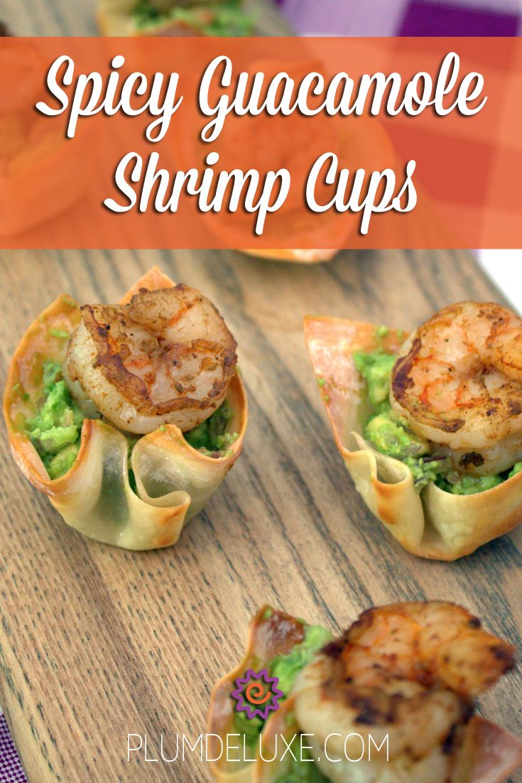 These little guys look super fancy in their baked wonton wrappers, but the reality is they are incredibly easy to toss together just before serving.