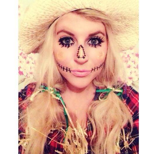 12 best halloween images on Pinterest   Scarecrow makeup ...