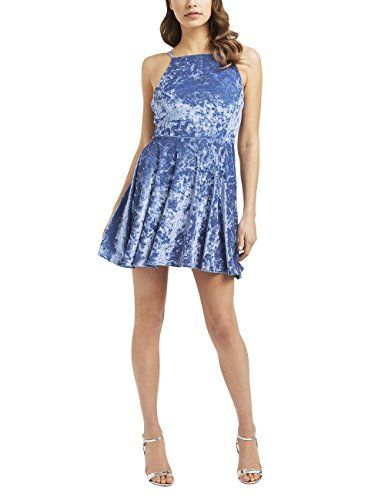 Lipsy Womens Velvet Cami Skater Dress *** Check out the image by visiting the link-affiliate link.