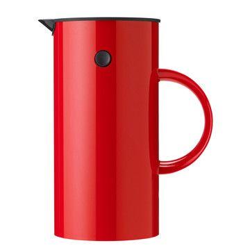 Press Coffee Maker Red by Erik Magnussen #productdesign #industrialdesign