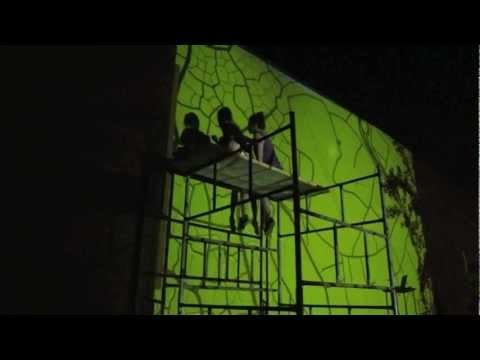 Video: Ekomural Zabłocie   Mural na Ekobistro Papuamu   Kraków, Zabłocie, 21-24 VI 2012