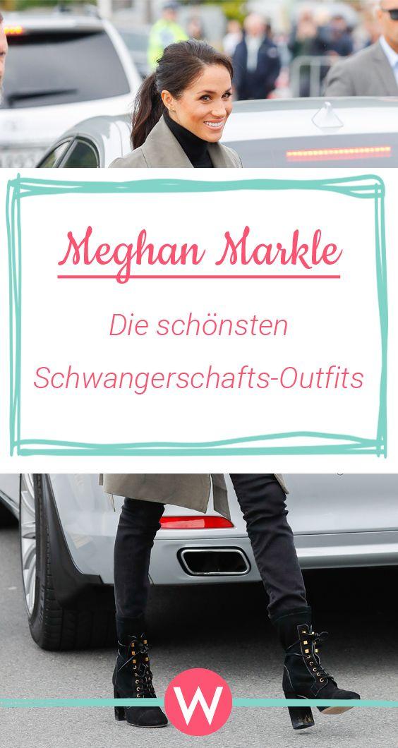 Meghan Markle Ihre Schonsten Schwangerschafts Outfits Modetrends