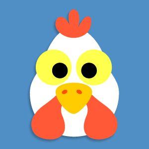 Chicken mask - Chicken Licken Story
