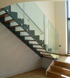baranda cristal escaleras