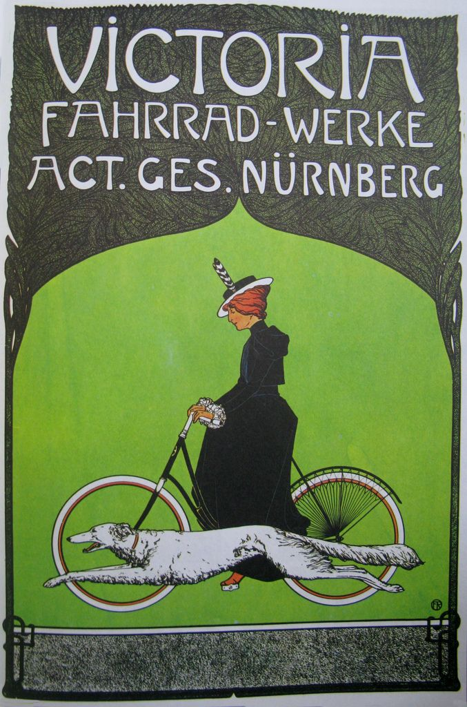 Vintage Bicycle Posters: Victoria Fahrrad-Werke