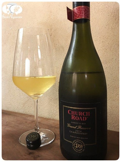 Score 93/100 Wine review, tasting notes, rating of 2014 Church Road Grand Reserve Chardonnay. Description of aroma, palate, flavors. Join the experience.
