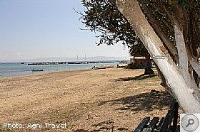 Katelios beach in Kefalonia