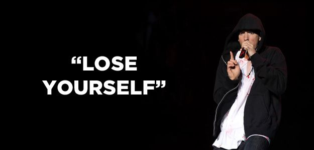 I got Lose Yourself! Which Eminem Song Best Describes You?