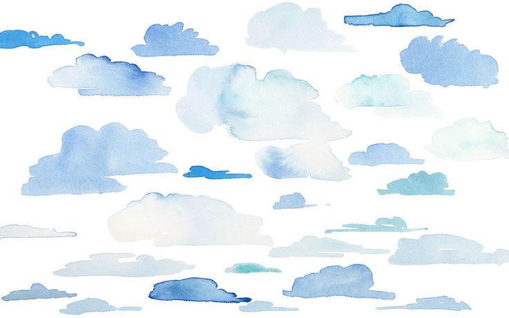 A desktop wallpaper for cloud gazers.