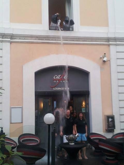 Il Gallery Hotel Recanati ringrazia tutti quelli che hanno partecipato con le proprie donazioni. #Icebucketchallenge