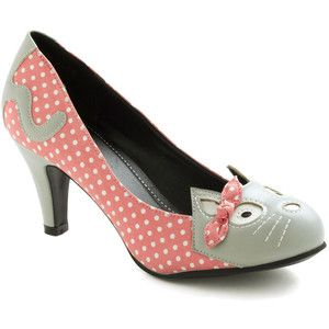 Varietats: Meow's the Time Heel by ModCloth