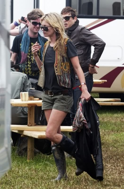 Kate Moss #Glastonbury
