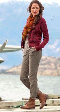 Amy in Egypt: Style Inspiration: Eddie Bauer Dorky/Outdoorsy