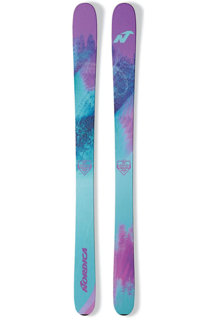 Complementing the La Nina, we introduce the powerful winds of the new 2017 Nordica Women's Santa Ana 100 Freeride Ski.