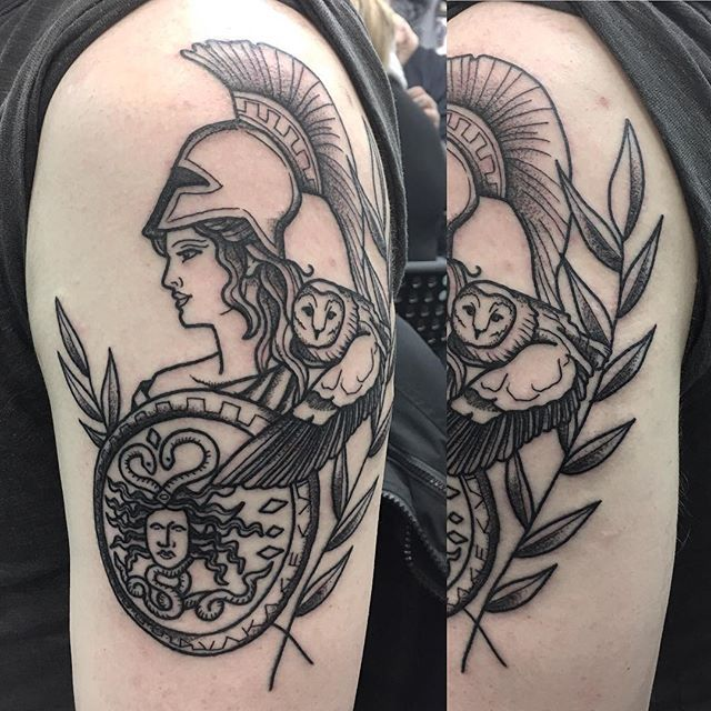 Image result for athena tattoo