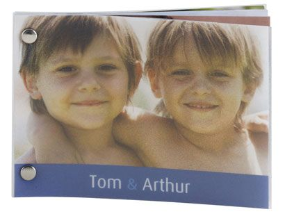 Minibook Photo Book | Personalised Photo Books - PhotoBox // perfect for a stocking stuffer family book?