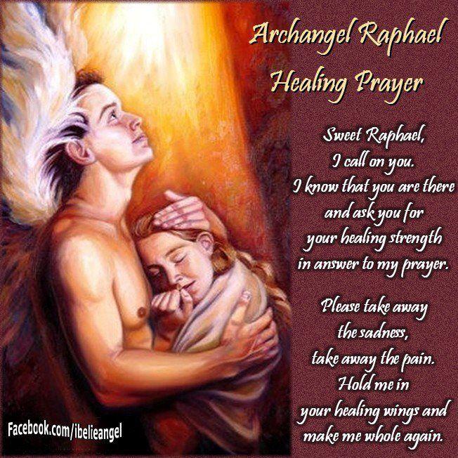 Prayer to Archangel Raphael