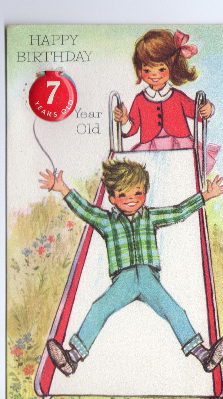 909 Best Birthday Age Images On Pinterest Vintage Birthday Cards