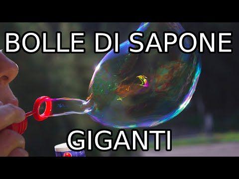 BOLLE DI SAPONE fatte in casa in 5 minuti DIY   Soap Bubbles   Baby Kitchen - YouTube