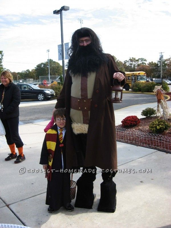 Cool Homemade Harry Potter Family Costume... Coolest DIY Halloween Costume Contest