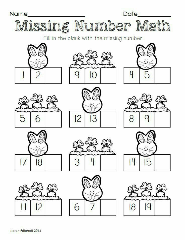 15 besten Numerales hasta el 20 Bilder auf Pinterest | Kindergarten ...