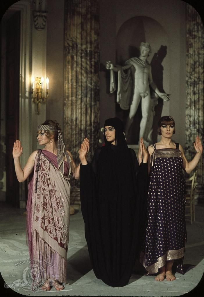 "Jennie Linden, Eleanor Bron and Glenda Jackson in ""Women in Love"""