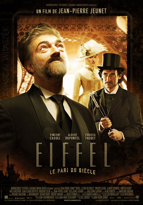 L'affiche imaginaire d'un biopic sur Eiffel