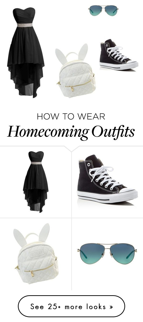 """""""#CUTE IN STYLE """" by softballdiva05 on Polyvore featuring Converse, cutekawaii and Tiffany & Co."""