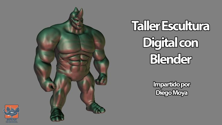 Taller Escultura Digital con Blender IHMAN 3D SCHOOL