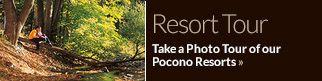 Romantic Getaways In The Pocono Mountains | PA Weekend Getaways | Honeymoon Vacations