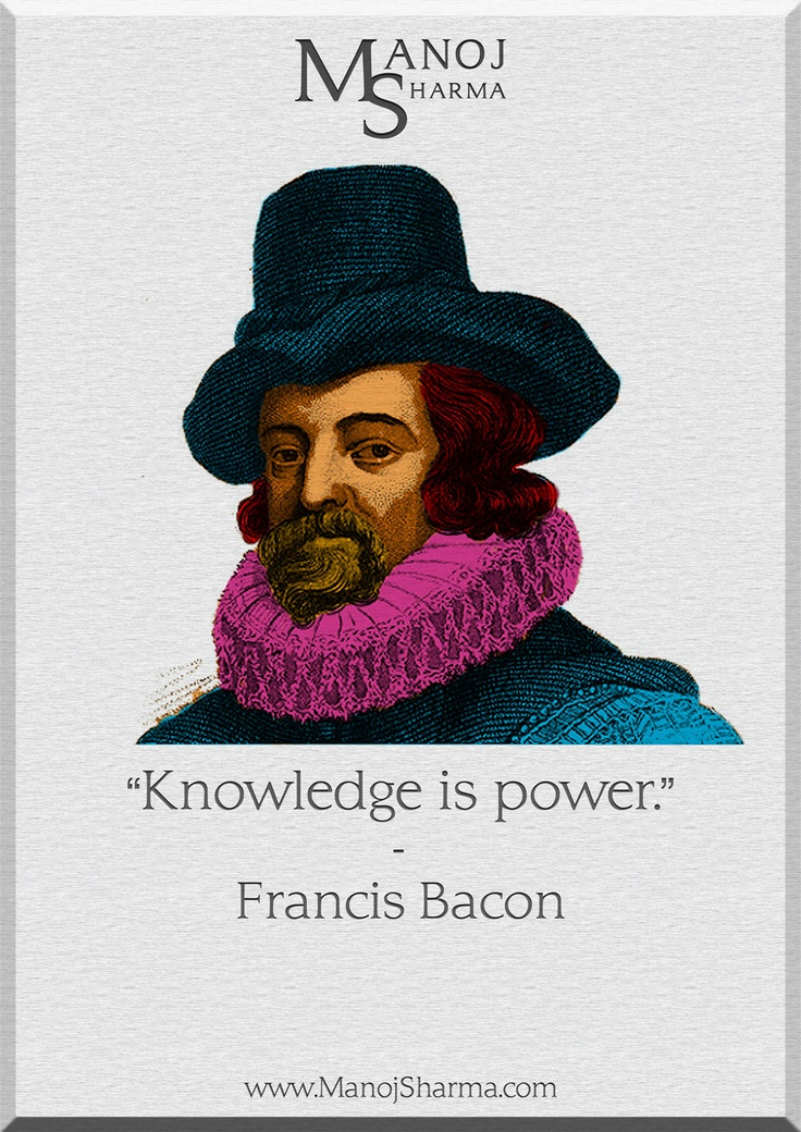"francis bacon knowledge is power essay Francis bacon essays summary  the knowledge of truth,  francis bacon's essay ""of truth"" is one of the more famous of his works of prose."