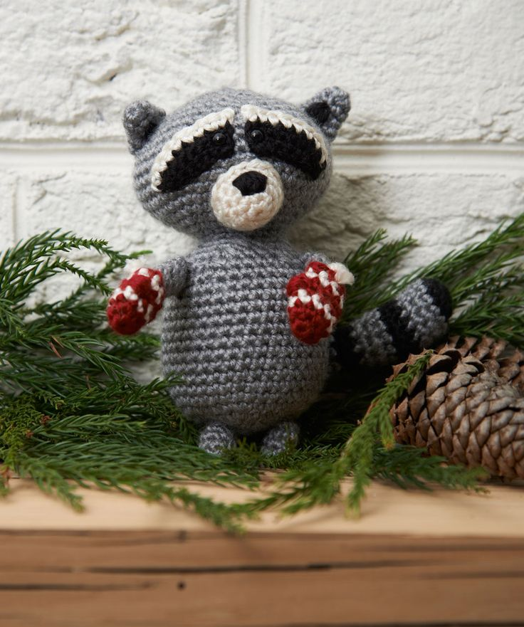 Raccoon Amigurumi - FREE Crochet Pattern / Tutorial