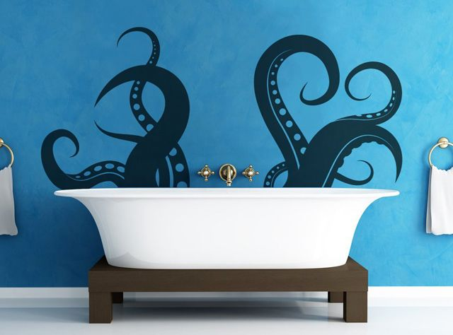 Giant Tentacles Vinyl Wall Decal Sticker