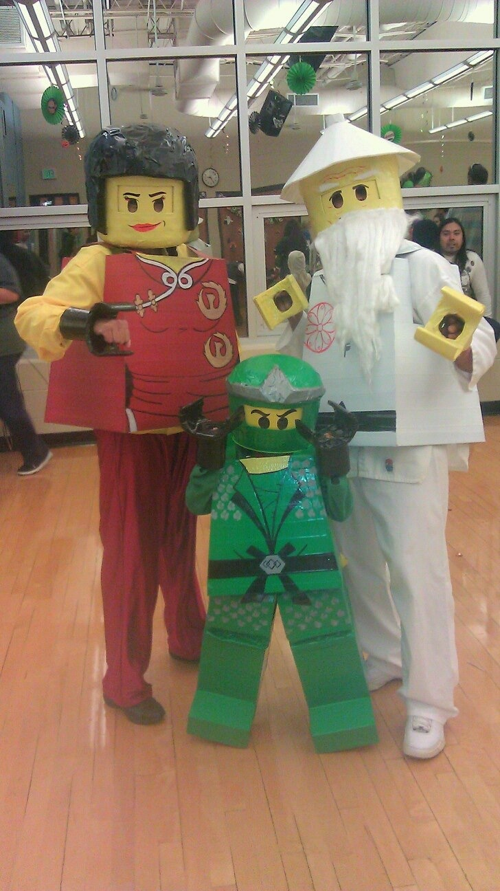 Ninjago costumes...