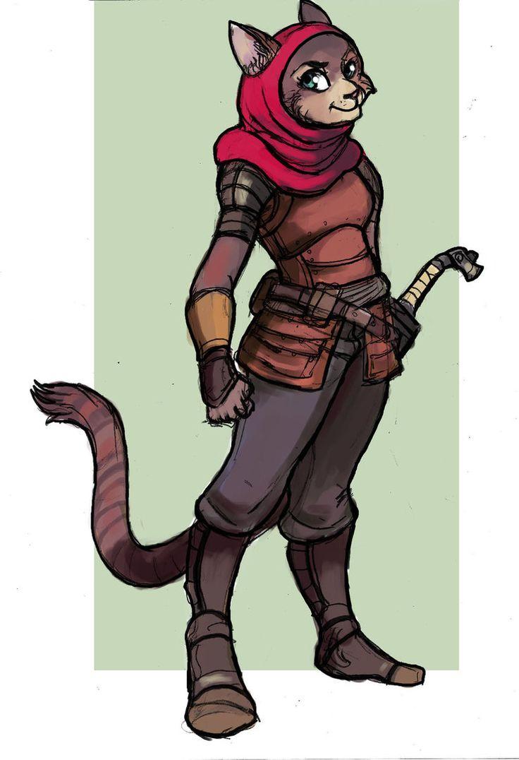 Character Design: Rasheeda - Caravan Guard by TheLivingShadow