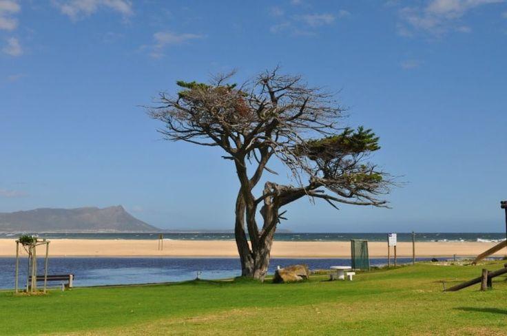 Kleinmond Beach, in Kleinmond, Western Cape