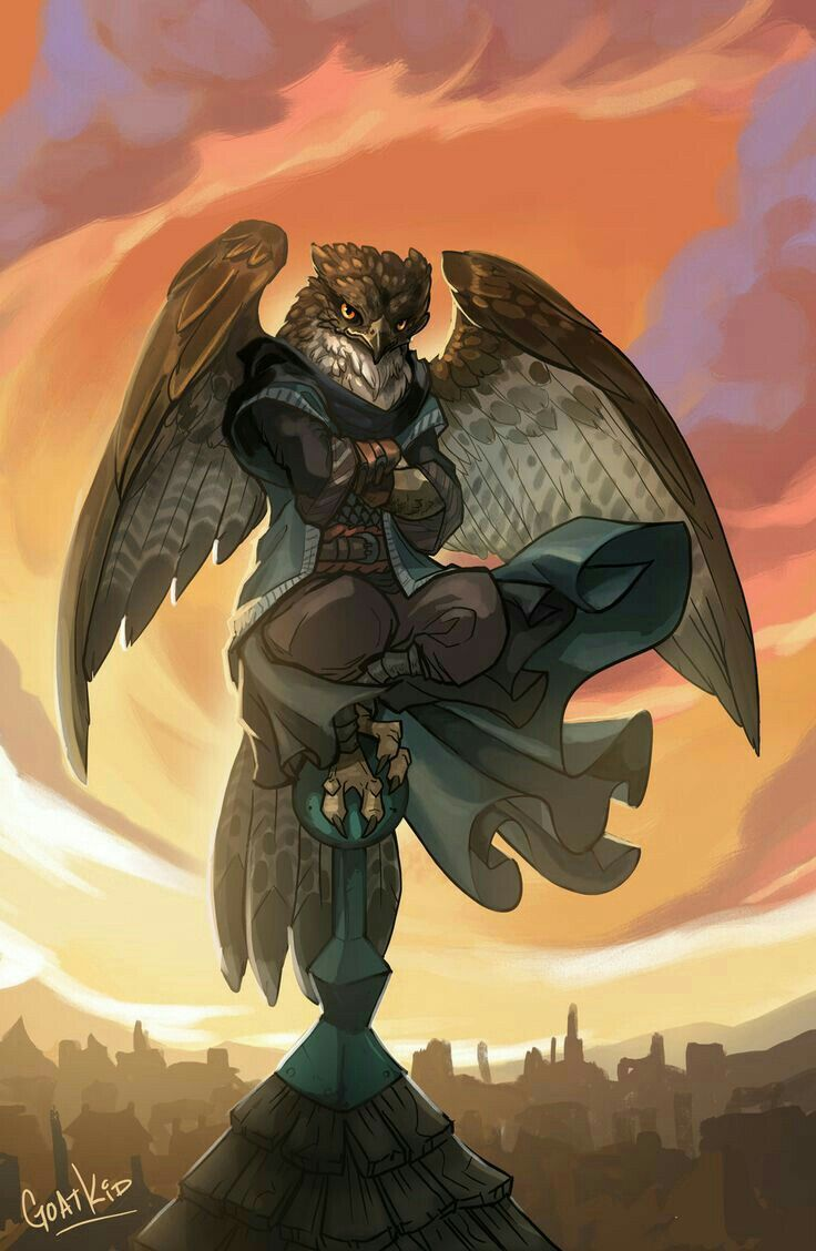 Uriel Plume-of-the-Dawn by Goat-Kid    / http://goat-kid.deviantart.com/art/Uriel-Plume-of-the-Dawn-577443841