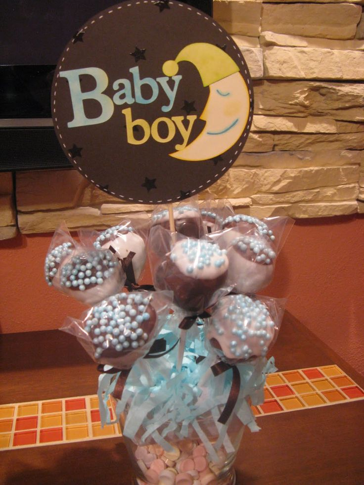 24 best images about centros de mesa on pinterest for Mesa baby shower nino