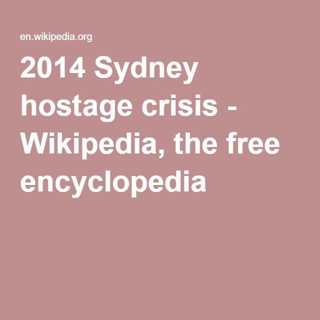 2014 Sydney hostage crisis - Wikipedia, the free encyclopedia
