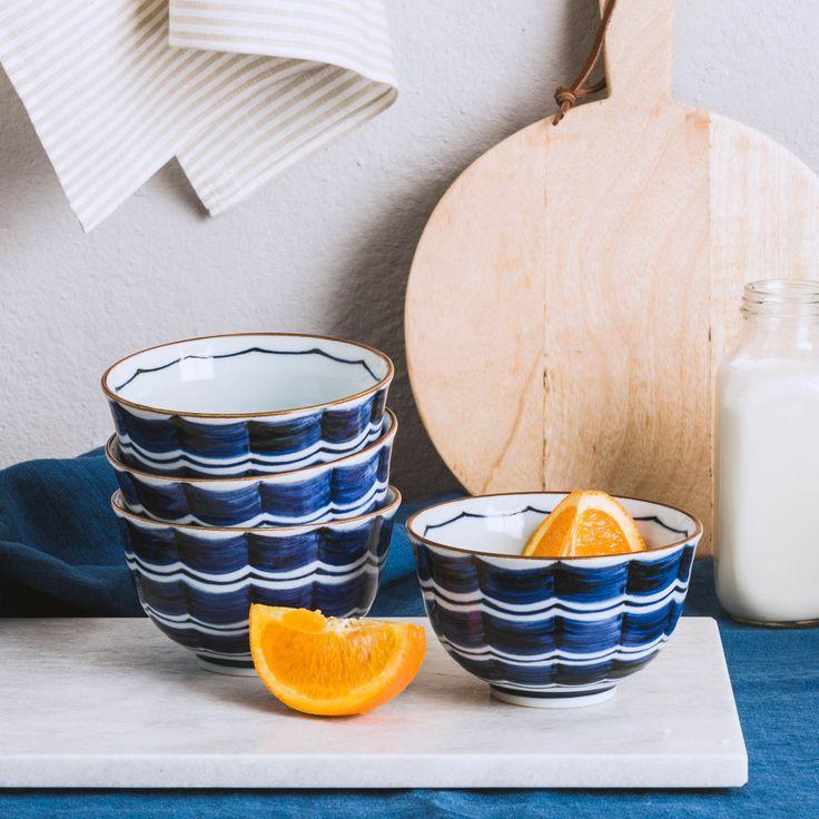 Schalen Set Daisen Ceramic Design White Ceramics And